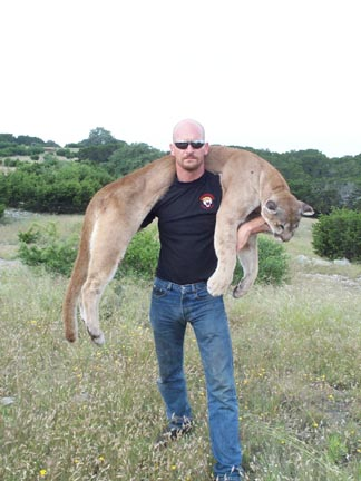 Clint Tuma Kills Cougar